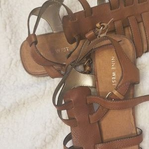 Nine West Double Sandals Size 10 M